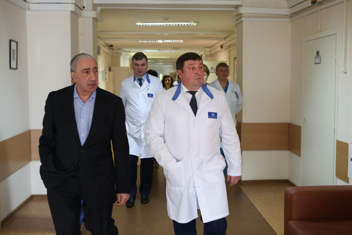Встреча ректора с сотрудниками НПЦ Кардиоангиологии