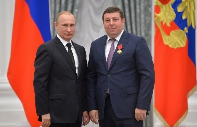 Благодарность Президента Российской Федерации Владимира Путина