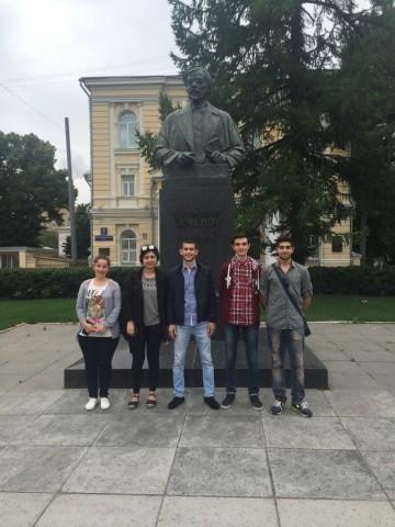 Студенты-отличники Бакинского филиала прошли обучение в Москве