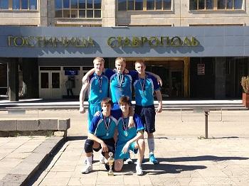 Всероссийский успех волейболистов Первого Меда