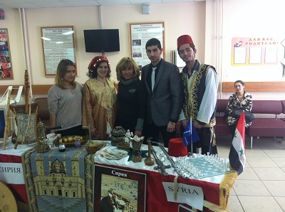 Сирийские студенты - о культуре и традициях Сирии