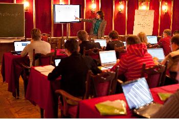 Лучшие «Преподаватели он-лайн» провели TEDx-конференцию «Учить и учиться по-новому» на Зимней школе Благотворительного Фонда В.Потанина
