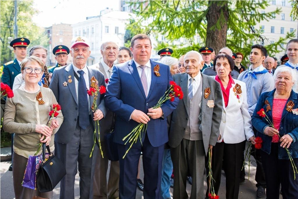 В Сеченовском университете почтили память героев Великой Отечественной войны