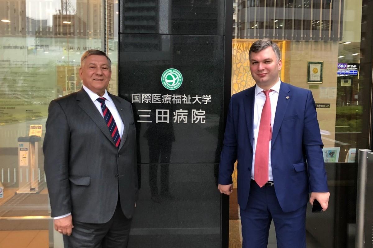 Сеченовский университет укрепляет сотрудничество с японскими медиками