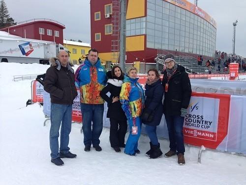 Волонтеры Первого Меда поработали на Кубке Мира по лыжным гонкам