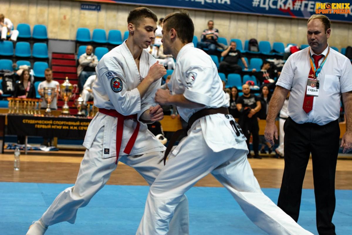 Студенты Сеченовского Университета стали пятыми на турнире по ашихара карате