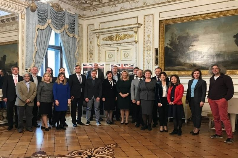 The round table on antimicrobial resistance was held at the British Ambassador's residence in Moscow