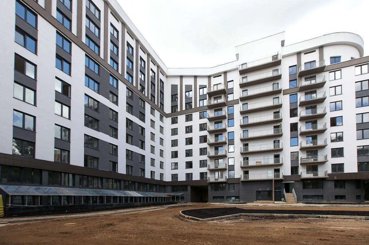 Строительство общежития на Озерной вышло на финишную прямую