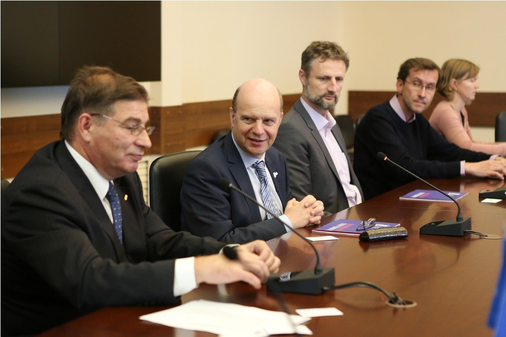 Университет Гента представил «Платформу Россия»