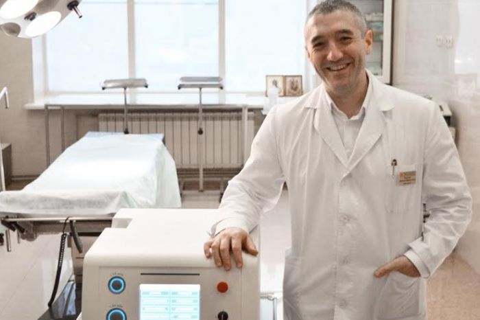 Sechenov University's scientists have created the world's best laser for treatment of prostate adenoma