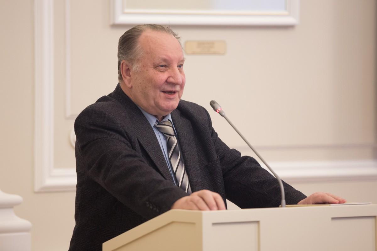 Поздравляем профессора Юрия Михайловича Хрусталева с 80-летием!