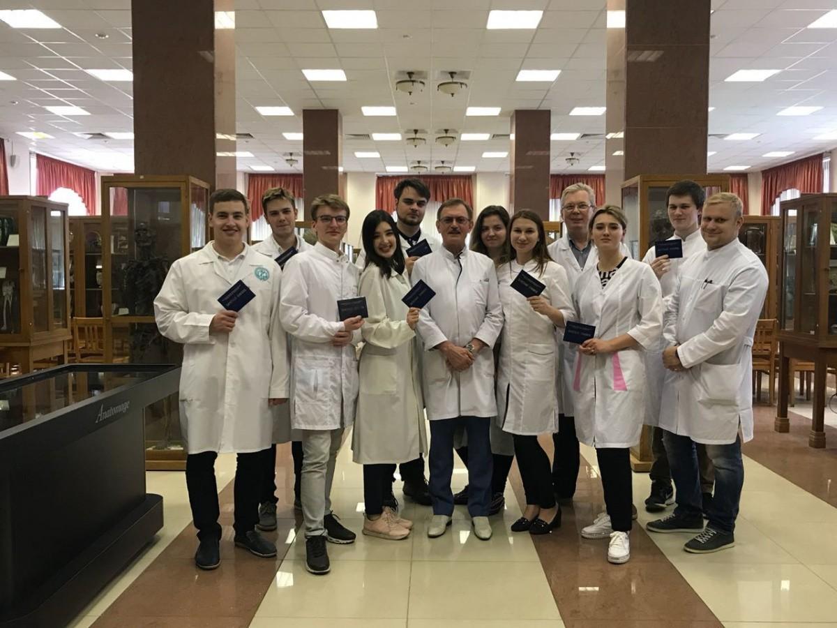 Кафедра анатомии укрепляет межвузовское сотрудничество