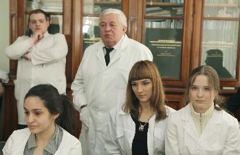 Клинику урологии им. Р.М. Фронштейна посетили ученики  медицинских классов