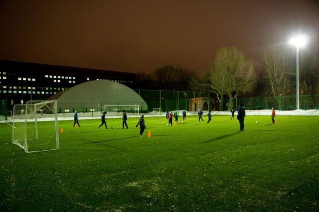 Стадион «Буревестник» готовится к новому спортивному сезону