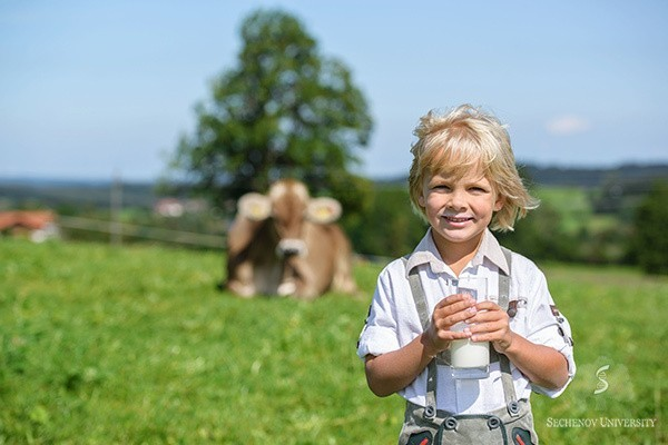 Milk allergy in children Is less common than generally accepted