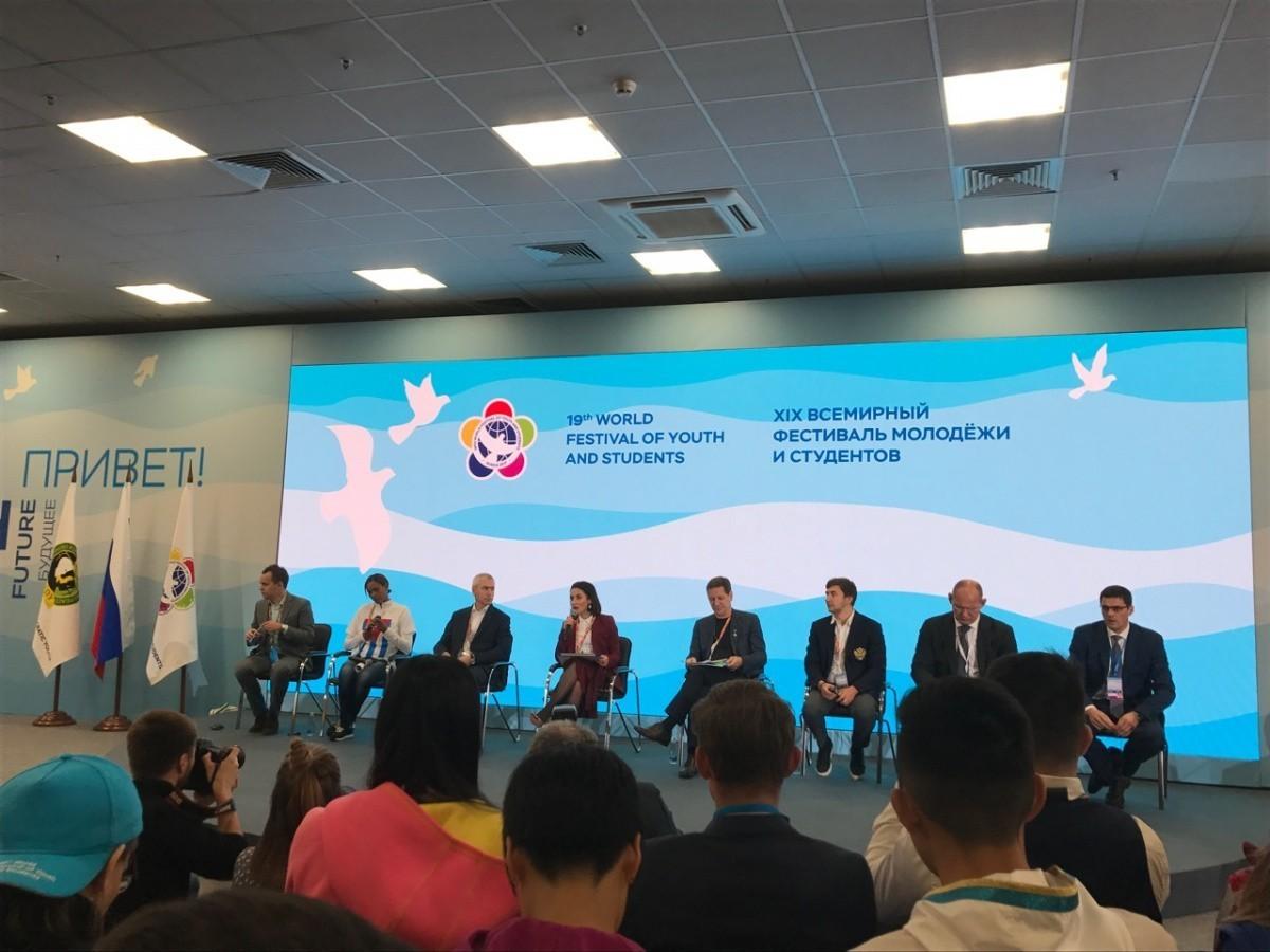 Ординаторы Сеченовского университета на фестивале молодежи и студенчества