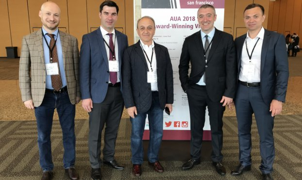 Urologists of Sechenov University presented award-winning video at conference of American Urological Association in San-Francisco