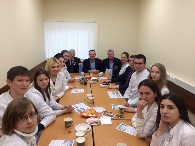 О героизме и самопожертвовании студентам рассказали ликвидаторы аварии на Чернобыльской АЭС