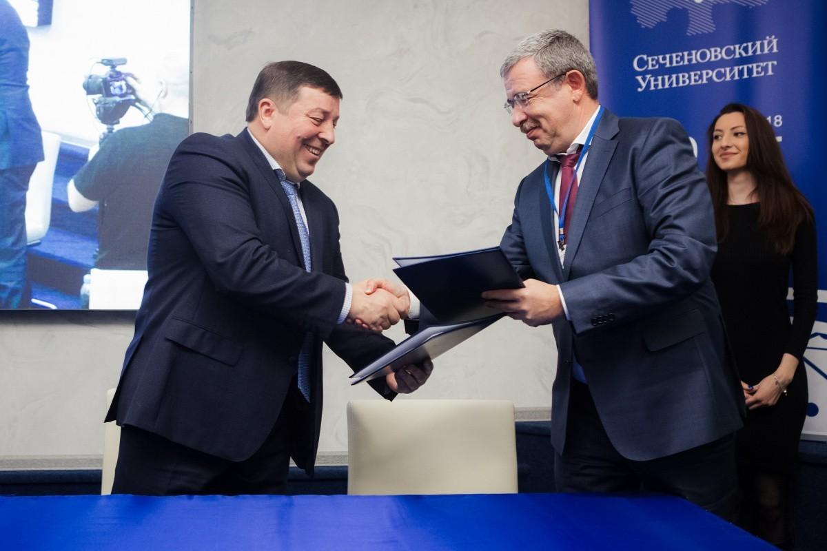 Сеченовский Университет и «ПРОТЕК» подписали соглашение о создании совместного предприятия по развитию телемедицинских технологий