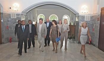 Первый Мед посетила делегация Минздрава Мальдивской Республики