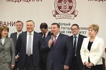 Поздравления и награды – женщинам Первого МГМУ им. И.М. Сеченова