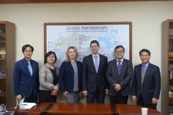 Cooperation with South Korea