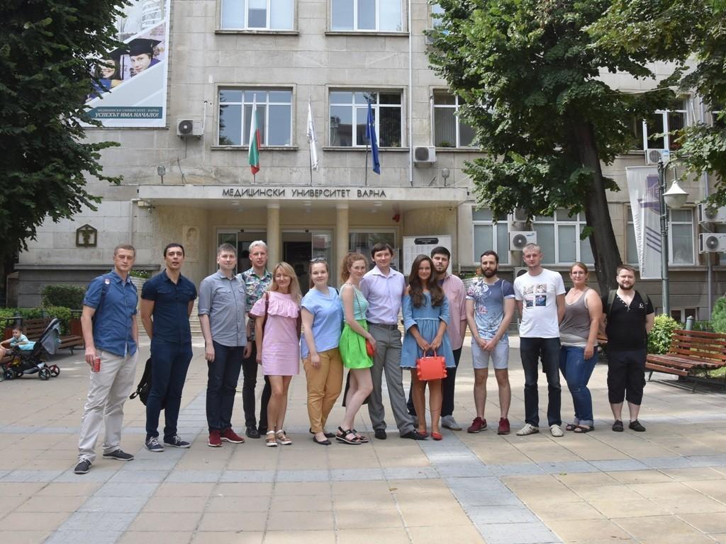 Студенты укрепляют международные связи