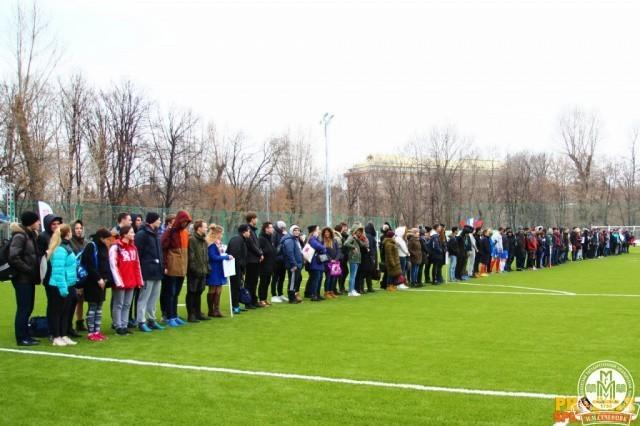 Праздник спорта и дружбы на стадионе «Буревестник»