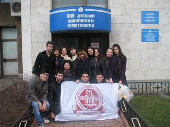 Радость общения: студенты Первого Меда в НИИ детской онкологии