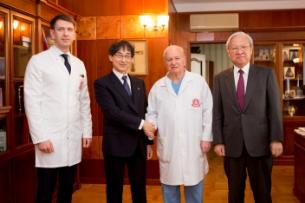 Oita University is interested in cooperation with the First MSMU