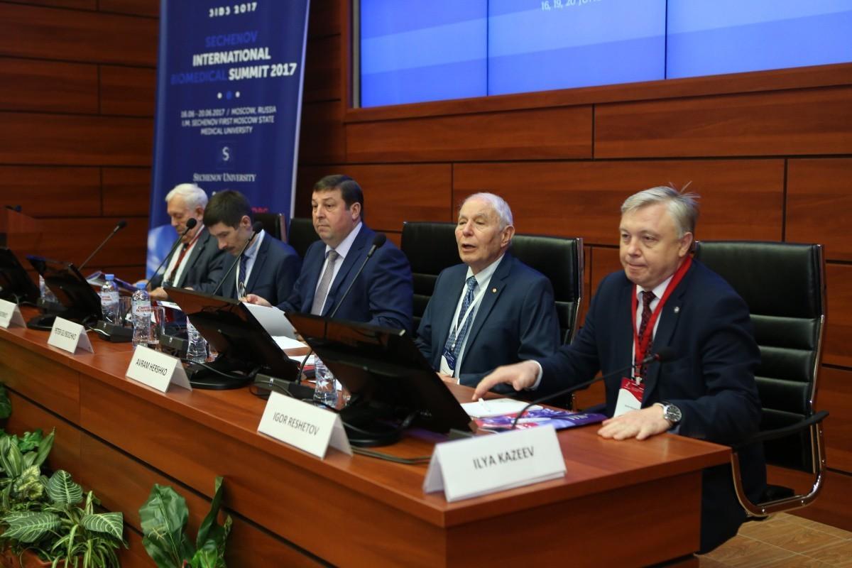 Достижения биомедицины представили на саммите