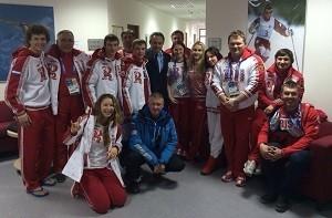 Кафедра лечебной физкультуры и спортивной медицины на страже олимпийских побед