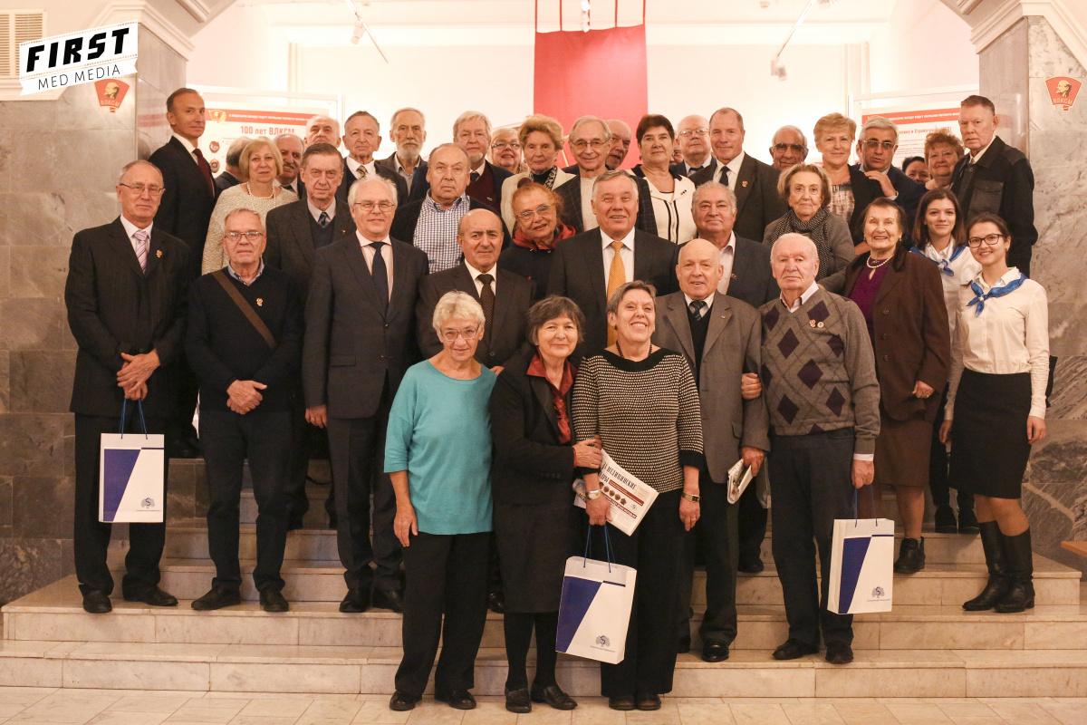 100-летие ВЛКСМ отметила Ассоциация выпускников вуза