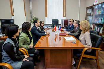 Делегация Харбинского университета – в гостях у «Сеченовки»