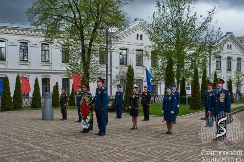 Память и слава военных лет в сердце каждого человека